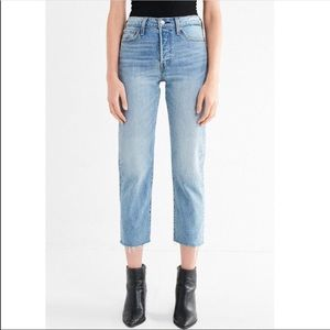 Levi's Jeans - Levi's wedgie straight crop jeans